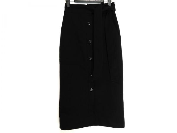 ドレステリア 巻きスカート サイズ36 S レディース ダークネイビー ロング丈