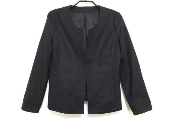 MANOUQUA(マヌーカ) ジャケット サイズ38 M レディース美品  黒