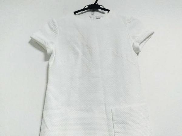 BALENCIAGA(バレンシアガ) ワンピース サイズ38 M レディース美品  白