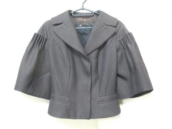 LOUIS VUITTON(ルイヴィトン) ジャケット サイズ36 S レディース美品  ダークブラウン