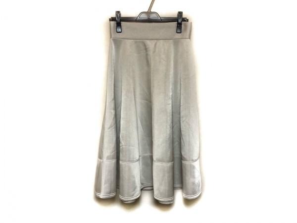 ADORE(アドーア) スカート サイズ38 M レディース美品  オフホワイト×黒 冬物/ADR