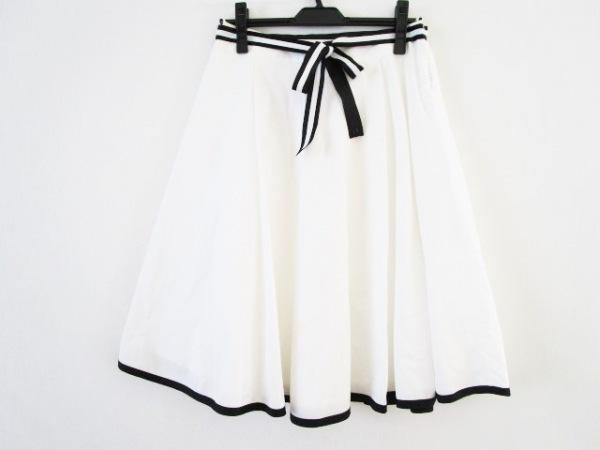 M'S GRACY(エムズグレイシー) スカート サイズ40 M レディース 白