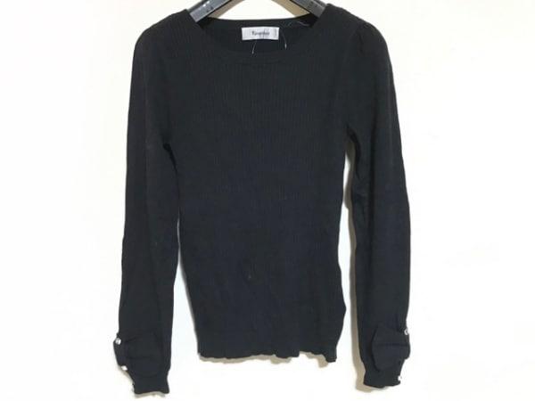 Rirandture(リランドチュール) 長袖セーター サイズ2 M レディース 黒 リボン