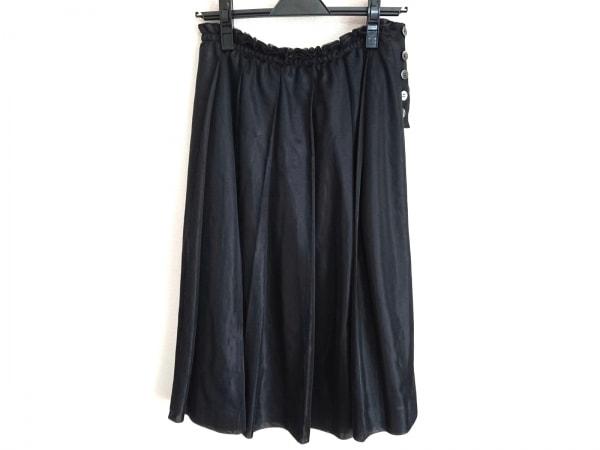 トリココムデギャルソン スカート サイズS レディース美品  黒