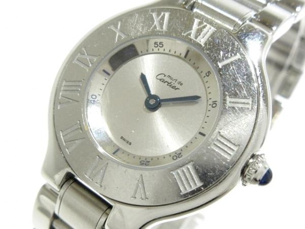 Cartier(カルティエ) 腕時計 マスト21 W10109T2 レディース シルバー