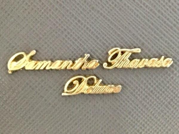 Samantha Thavasa Deluxe(サマンサタバサデラックス) トートバッグ ネイビー 合皮
