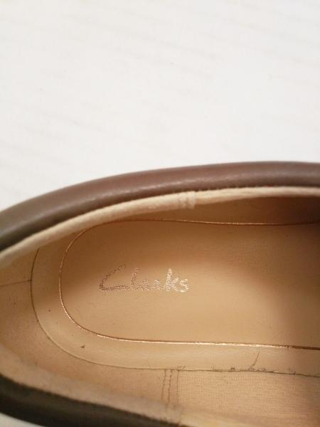 Clarks(クラークス) スニーカー 5 1/2 レディース ダークブラウン レザー