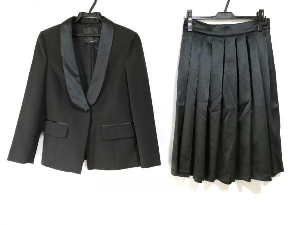 DENNY ROSE(デニーローズ) スカートスーツ サイズ42 L レディース美品  黒