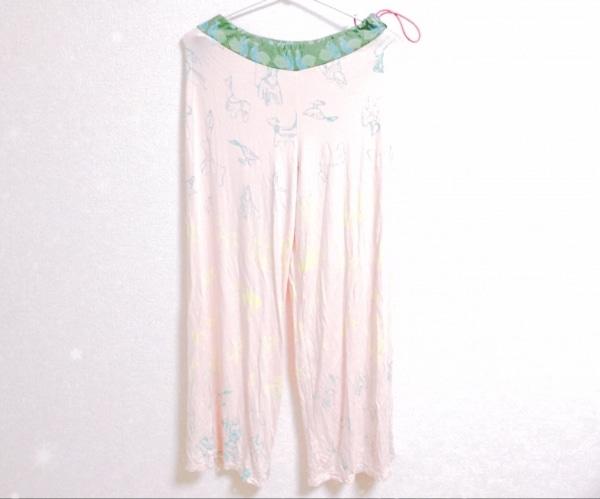 ホォアナ デ アルコ パンツ サイズ1 S レディース ピンク×グリーン×マルチ