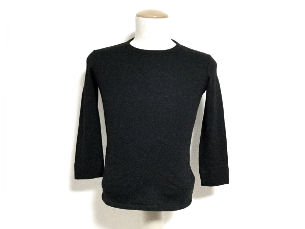 THE ROW(ザロウ) 七分袖セーター サイズXS レディース新品同様  黒