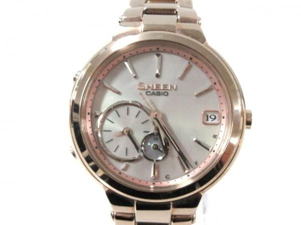 CASIO(カシオ) 腕時計新品同様  SHEEN SHB-200 レディース 白