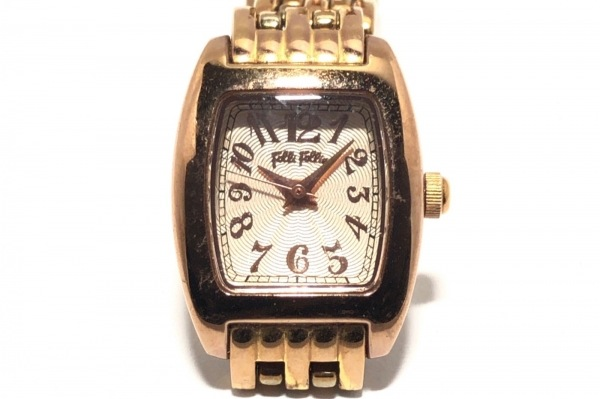 FolliFollie(フォリフォリ) 腕時計 WF5R1438P レディース ピンクゴールド