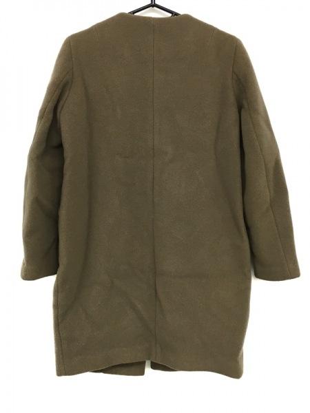 ドゥーズィエム コート サイズ38 M レディース美品  ダークブラウン 冬物