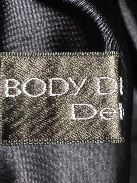 ボディドレッシングデラックス ミニスカート レディース美品  ネイビー×黒