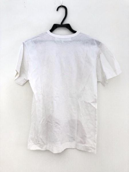 プレイコムデギャルソン 半袖Tシャツ サイズS レディース 白×レッド×黒 ハート