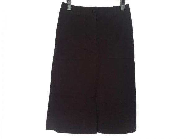 マーガレットハウエル ロングスカート サイズ2 M レディース新品同様  黒