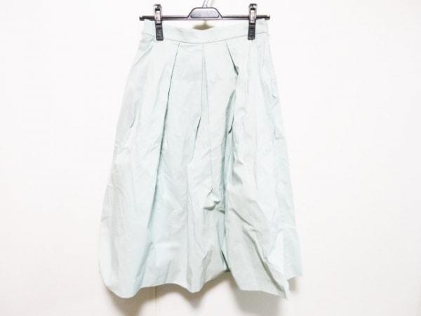 ESTNATION(エストネーション) ロングスカート サイズ36 S レディース ライトブルー