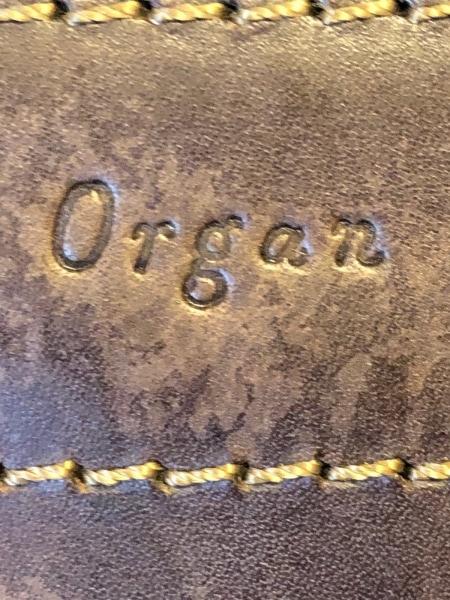 organ(オルガン) ハンドバッグ ダークブラウン 2way レザー