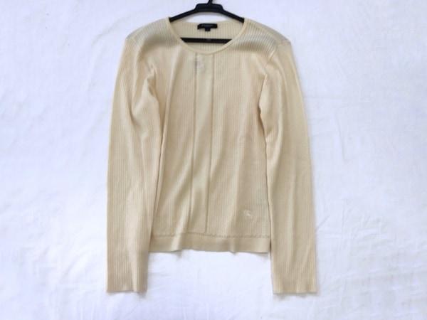 バーバリーロンドン 長袖セーター サイズ2 M レディース新品同様  ベージュ