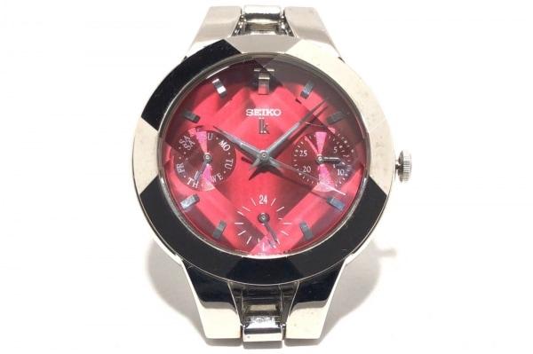 SEIKO(セイコー) 腕時計 ルキア 5Y89-0A70 レディース レッド