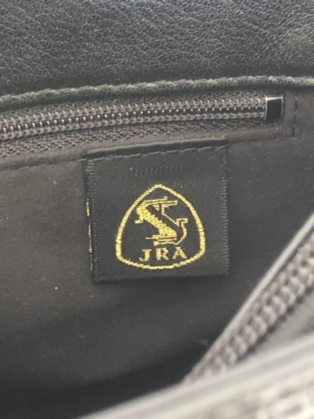 JRA(ジェイアールエイ) ハンドバッグ美品  黒 クロコダイル