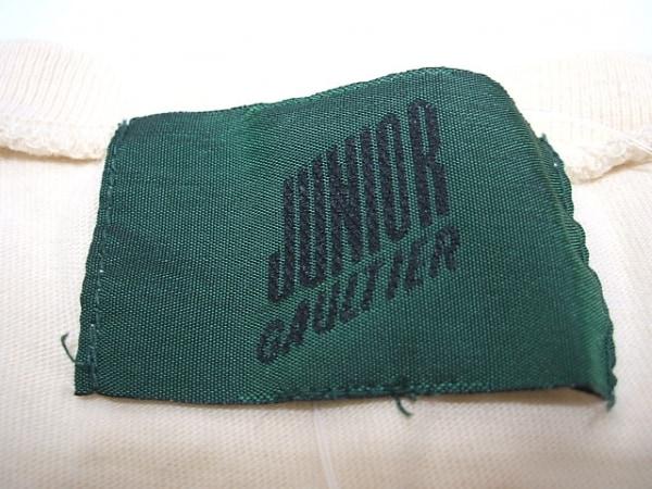 JUNIOR GAULTIER(ゴルチエ) タンクトップ サイズM レディース アイボリー×黒