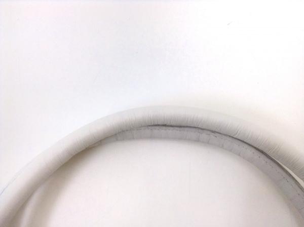 GINZA Kanematsu(ギンザカネマツ) トートバッグ ライトブルー×白 レザー