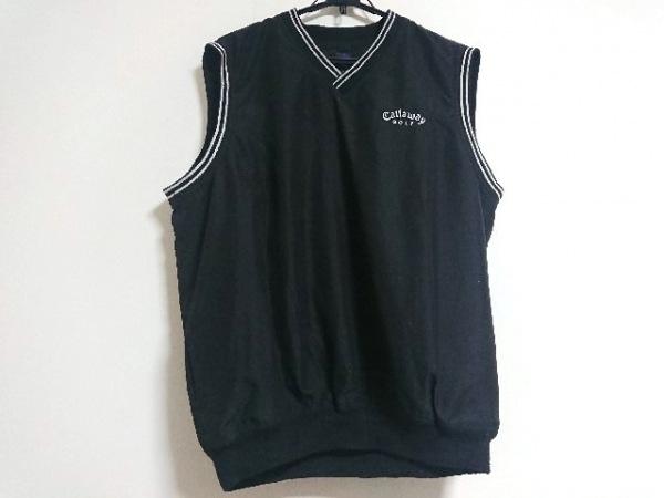 CALLAWAY(キャロウェイ) ベスト サイズXL メンズ 黒×白