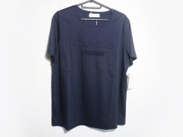 ネミカ 半袖Tシャツ サイズ13+ S レディース美品  ネイビー