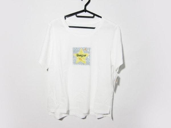 Leilian(レリアン) 半袖Tシャツ サイズ13+ S レディース美品  白