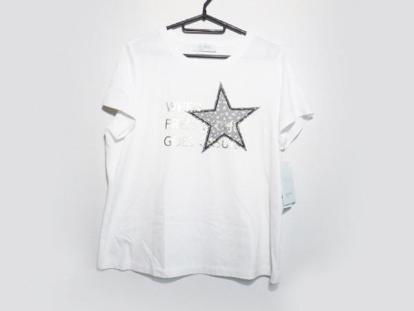 ネミカ 半袖Tシャツ サイズ13+ S レディース美品  白×シルバー スター