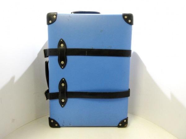 グローブトロッター キャリーバッグ サファリ21インチ トロリーケース ブルー×黒