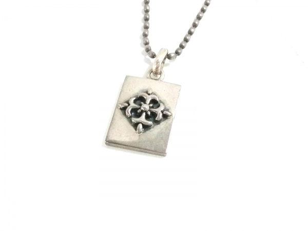 UZU(ウズ) ネックレス美品  シルバー クロス