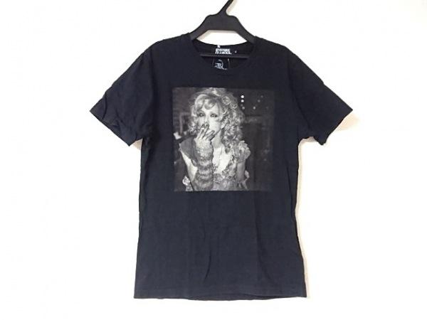 HYSTERIC GLAMOUR(ヒステリックグラマー) 半袖Tシャツ サイズS メンズ 黒×グレー