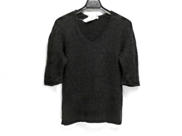 GIVENCHY(ジバンシー) 半袖セーター サイズL レディース 黒 BOUTIQUES