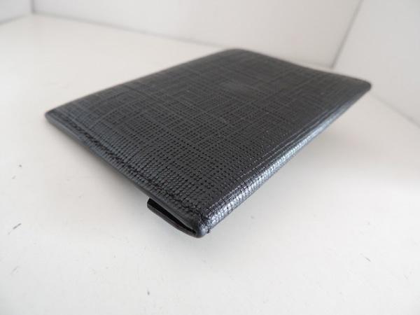アレキサンダーマックイーン カードケース 275334 黒×シルバー スカル