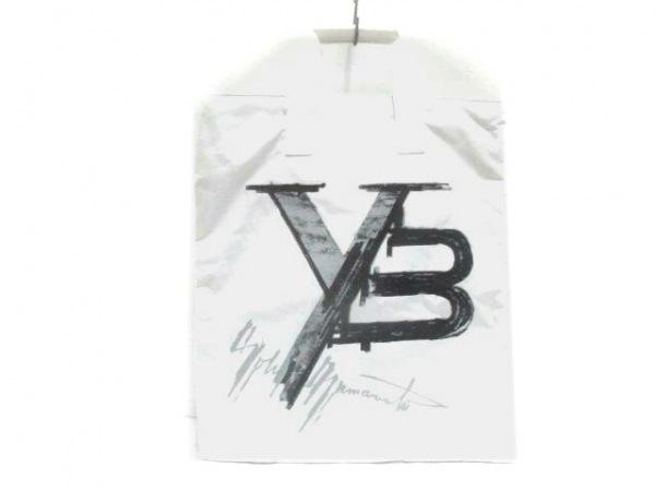 Y-3(ワイスリー) ハンドバッグ 白×グレー×黒 ナイロン×合皮
