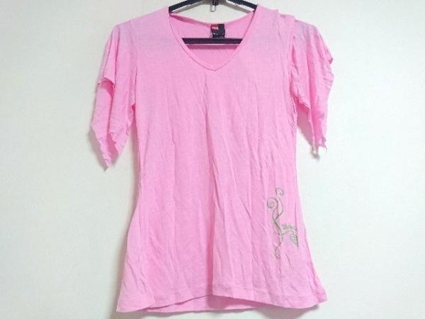 DIESEL(ディーゼル) 半袖Tシャツ サイズM レディース美品  ピンク