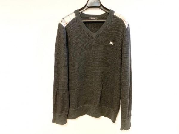 Burberry Black Label(バーバリーブラックレーベル) 長袖セーター サイズ2 M メンズ