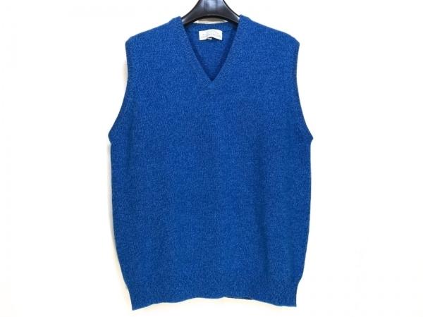 Ballantyne(バランタイン) ベスト サイズ46 XL メンズ ブルー ニット