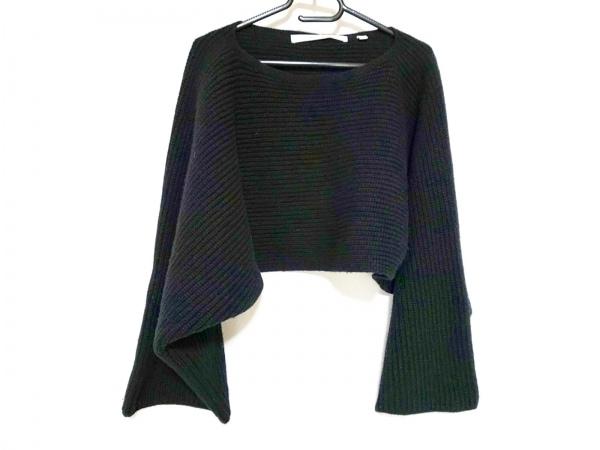 LEMAIRE(ルメール) 長袖セーター サイズL レディース 黒 UNIQLO/ショート丈
