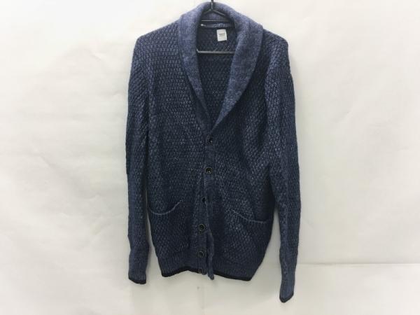 TAKEOKIKUCHI(タケオキクチ) ブルゾン サイズ3 L レディース ブルー 春・秋物/ニット