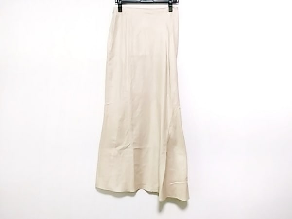 ヨウジヤマモト ロングスカート サイズ3 L レディース アイボリー +NOIR