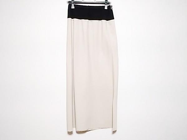 ヨウジヤマモト ロングスカート サイズ1 S レディース美品  ベージュ×黒