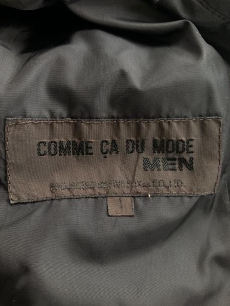 コムサデモードメン ダウンジャケット サイズ1 S メンズ 黒 冬物