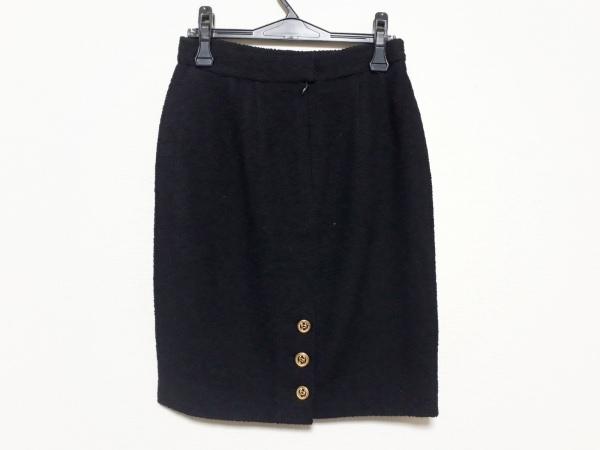 CHANEL(シャネル) スカート サイズ40 M レディース新品同様  黒