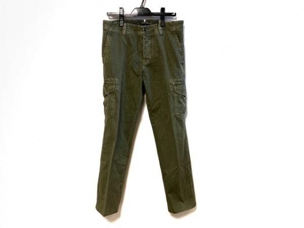 GTA(ジーティーアー) パンツ サイズ46 XL メンズ ダークグリーン TWISTED
