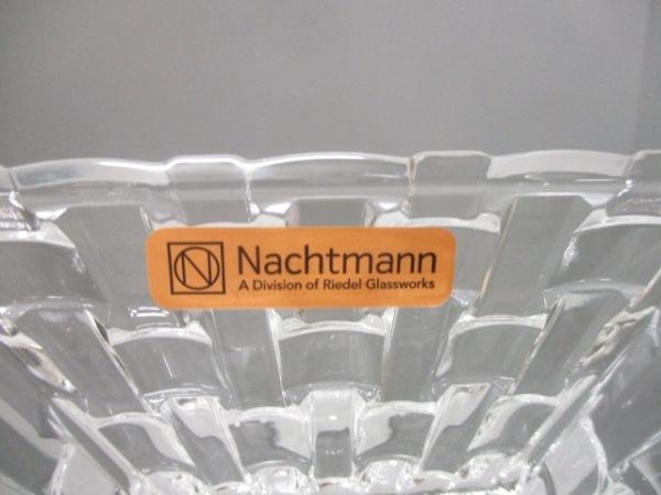 Nachtmann(ナハトマン) 食器新品同様  クリア ボウル×4/プレート×1 ガラス