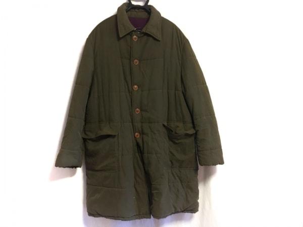ARNYS(アルニス) コート メンズ ブラウンカーキ 冬物/内側カシミヤ/中綿