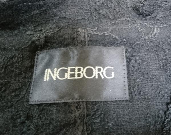 INGEBORG(インゲボルグ) ジャケット サイズM レディース美品  黒
